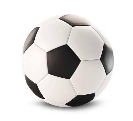 soccer ball isolated on white 3d-illustration