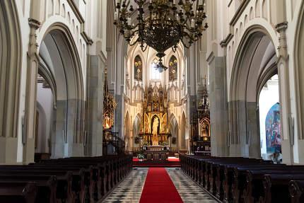 The Saint Joseph Church in Krakow July 12, 2019