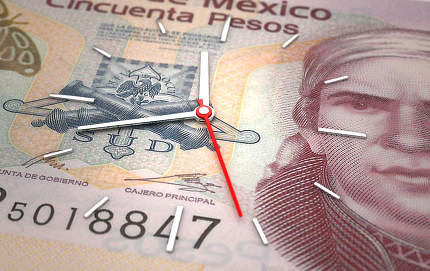 Time and Mexican Pesos