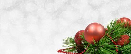White Christmas template