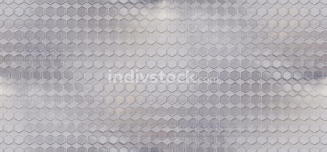 abstract creative seamless hexagonal background