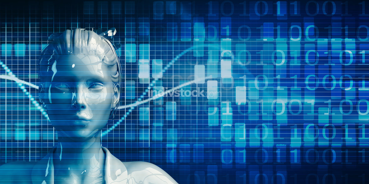 Business Person Using Data Analytics Technology