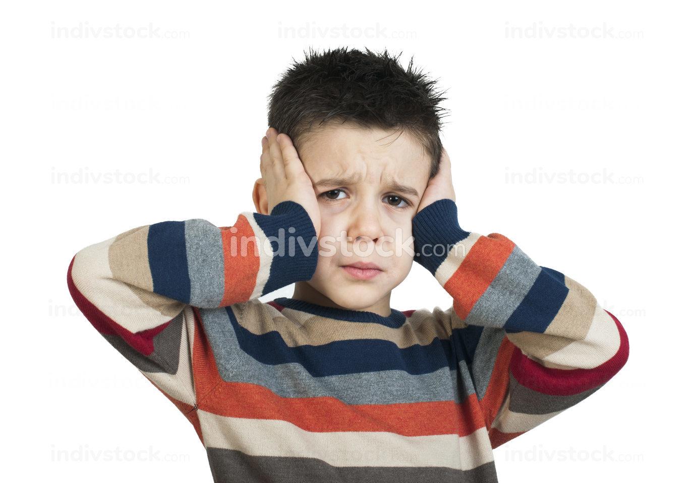 Child have headache