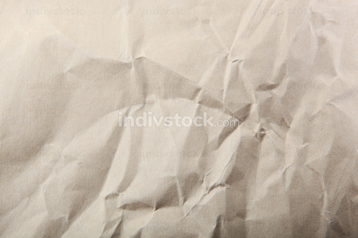 Close-Up Of Old Brown Paper Texture