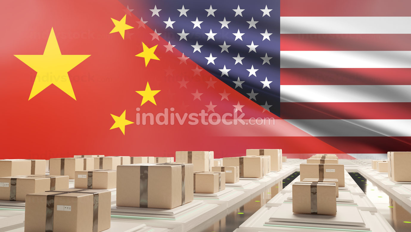 free download: background creative China and America with globe. elements of this image furnished by NASA. 3d-illustration