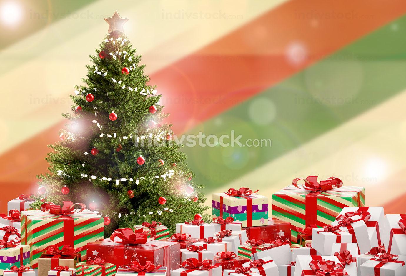free download: Christmas gifts festive presents design 3d-illustration