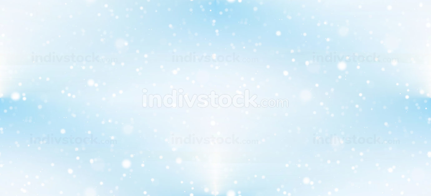 free download: seamless light blue sky background with snowflakes