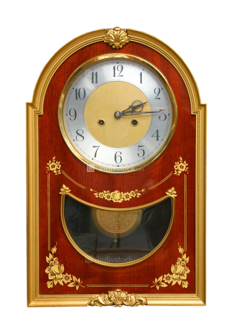 From 1800 ornate desktop clock.