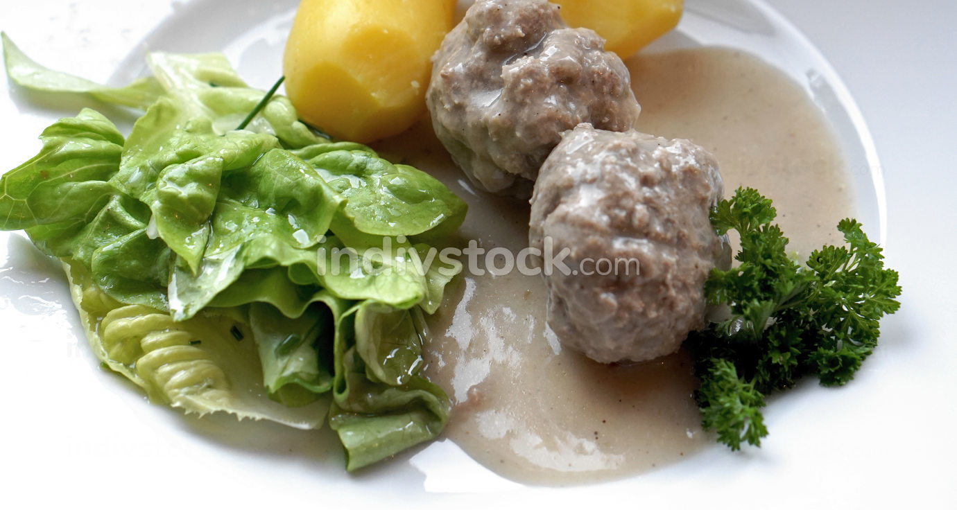 Königsberger Klopse German language for meatballs