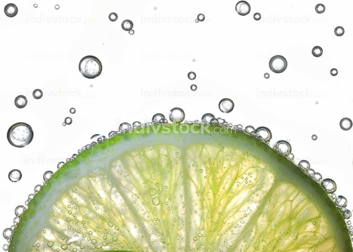 Lemon Slices In Water
