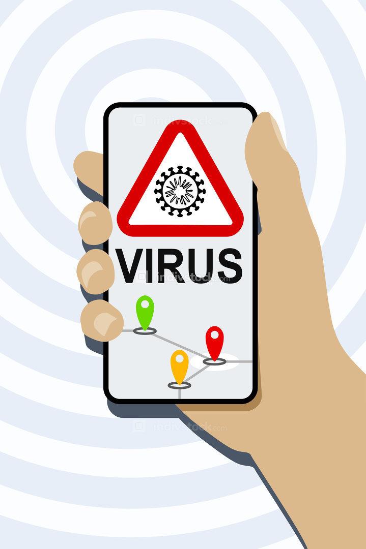 mobile phone virus detection app