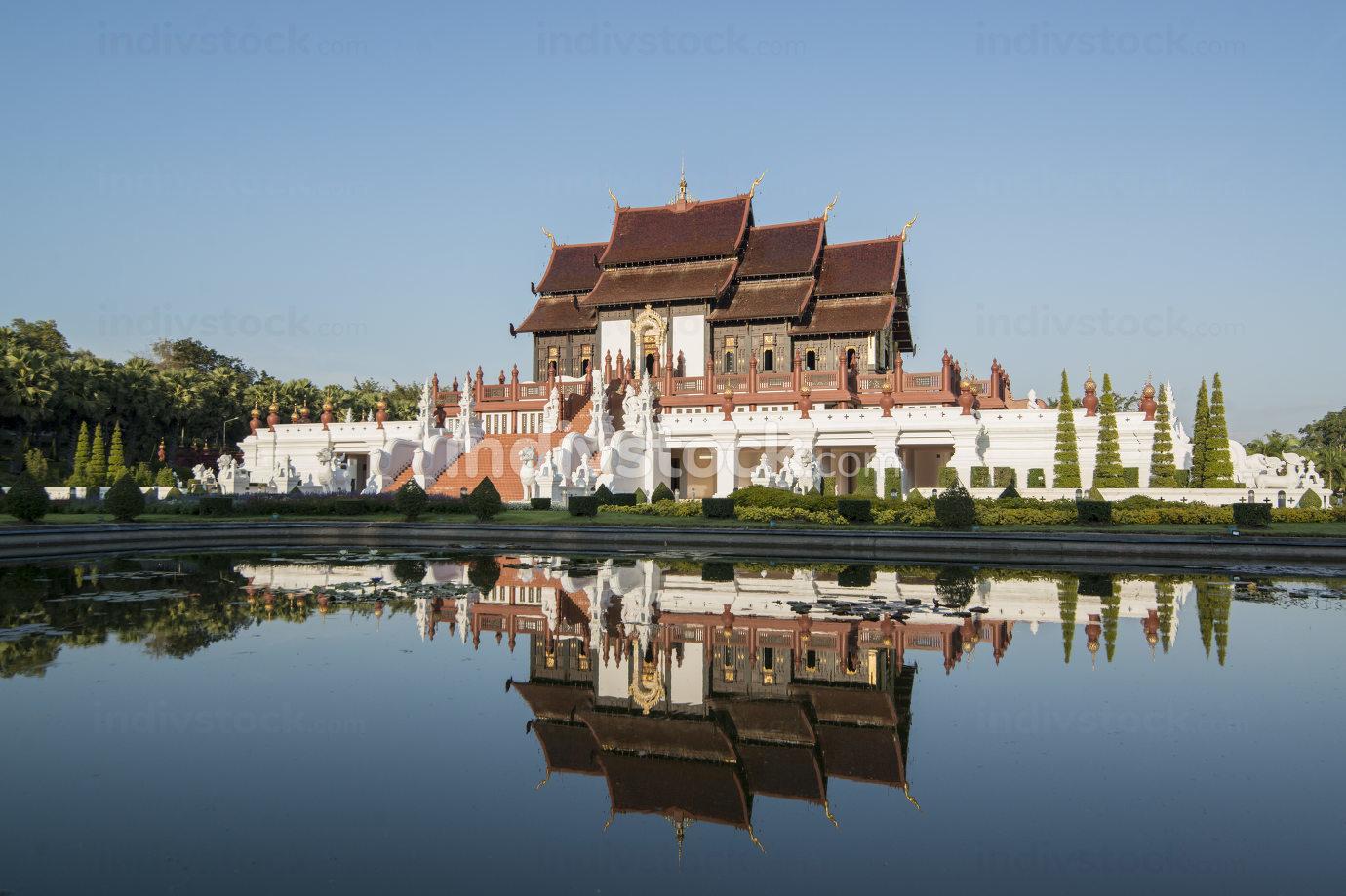 November, 2019 The Royal Park of Rajaphruek near the city of Chiang Mai innorth Thailand