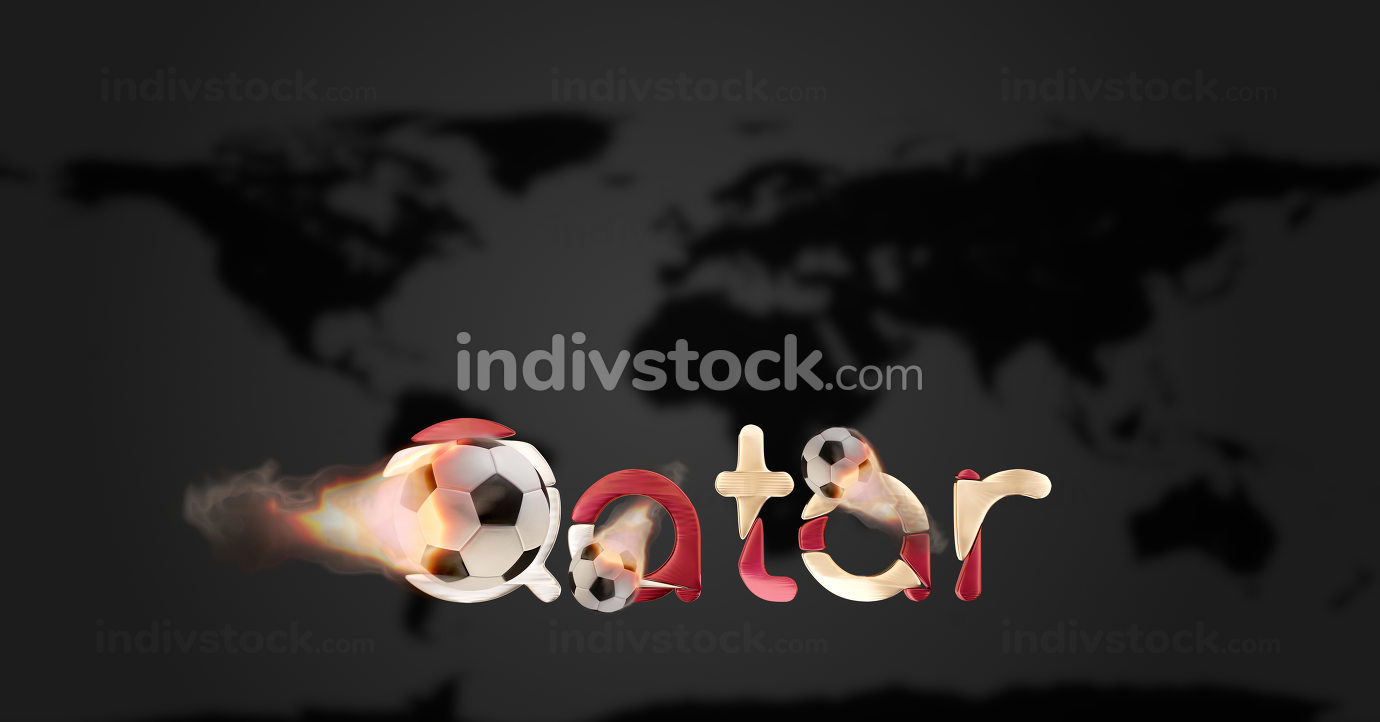Qatar golden. elements of this image furnished by NASA