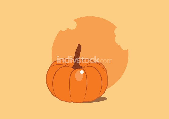 Delicious pumpkin bite