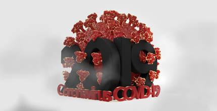 2019 concept of Coronavirus covid19 3d-illustration