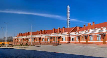 City Infectious Diseases Hospital in Odessa, Ukraine