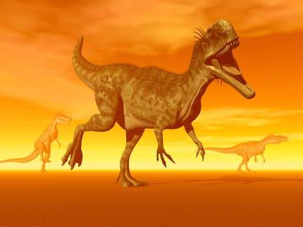 Monolophosaurus dinosaurs- 3D Render