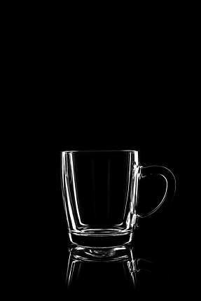 transparent glass for tea