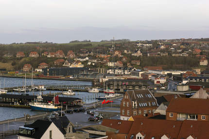 View from Lemvig, Denmark