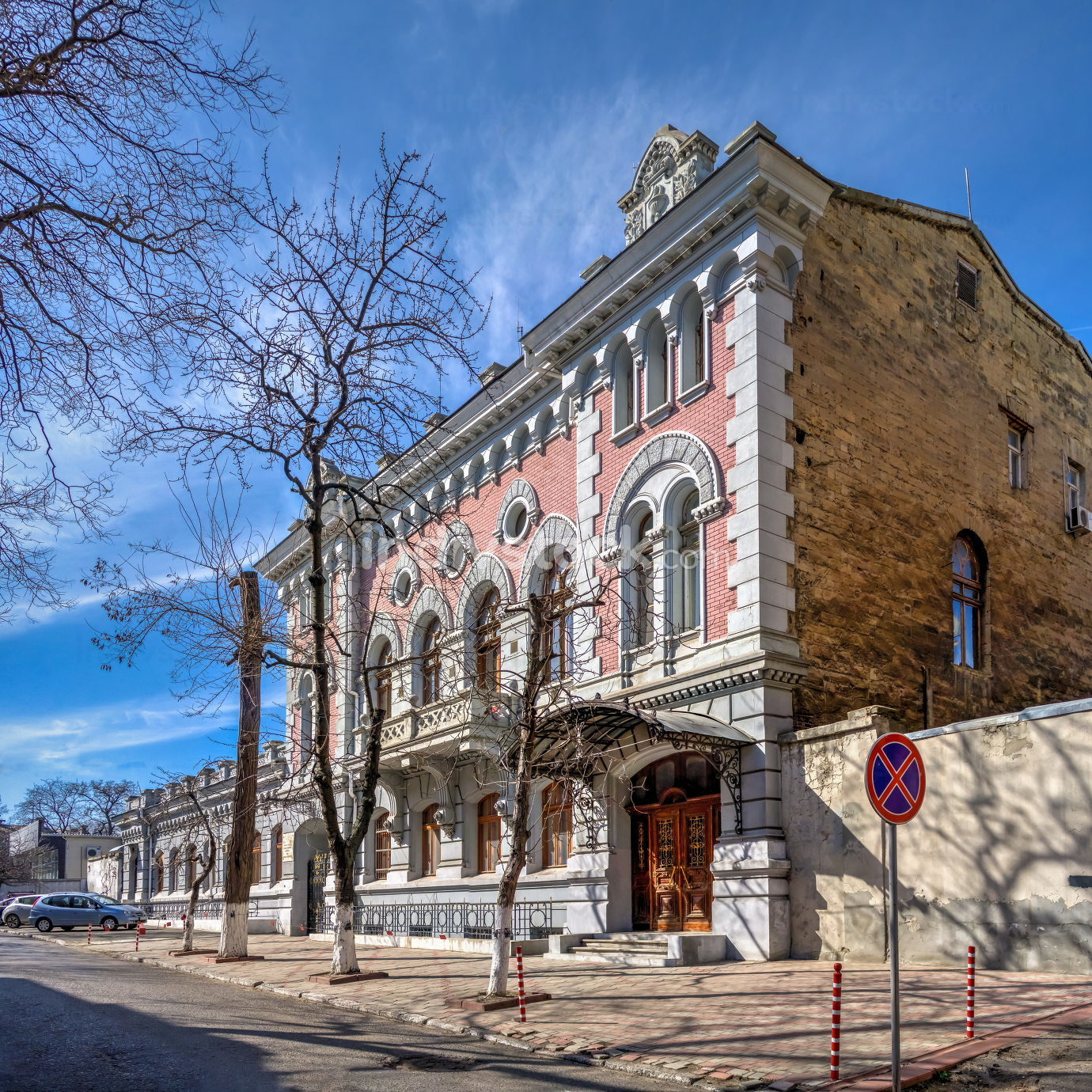 City Ambulance Station in Odessa, Ukraine