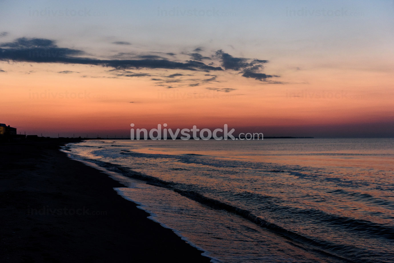 dawn of the sea, the sea calm