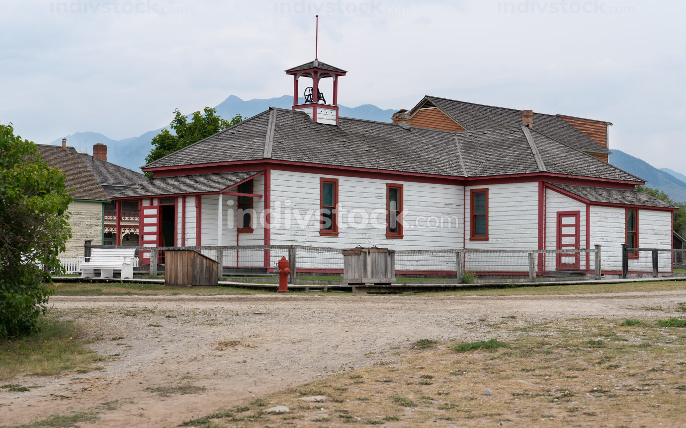Fort Steele, British Columbia, Canada on August 9, 2019