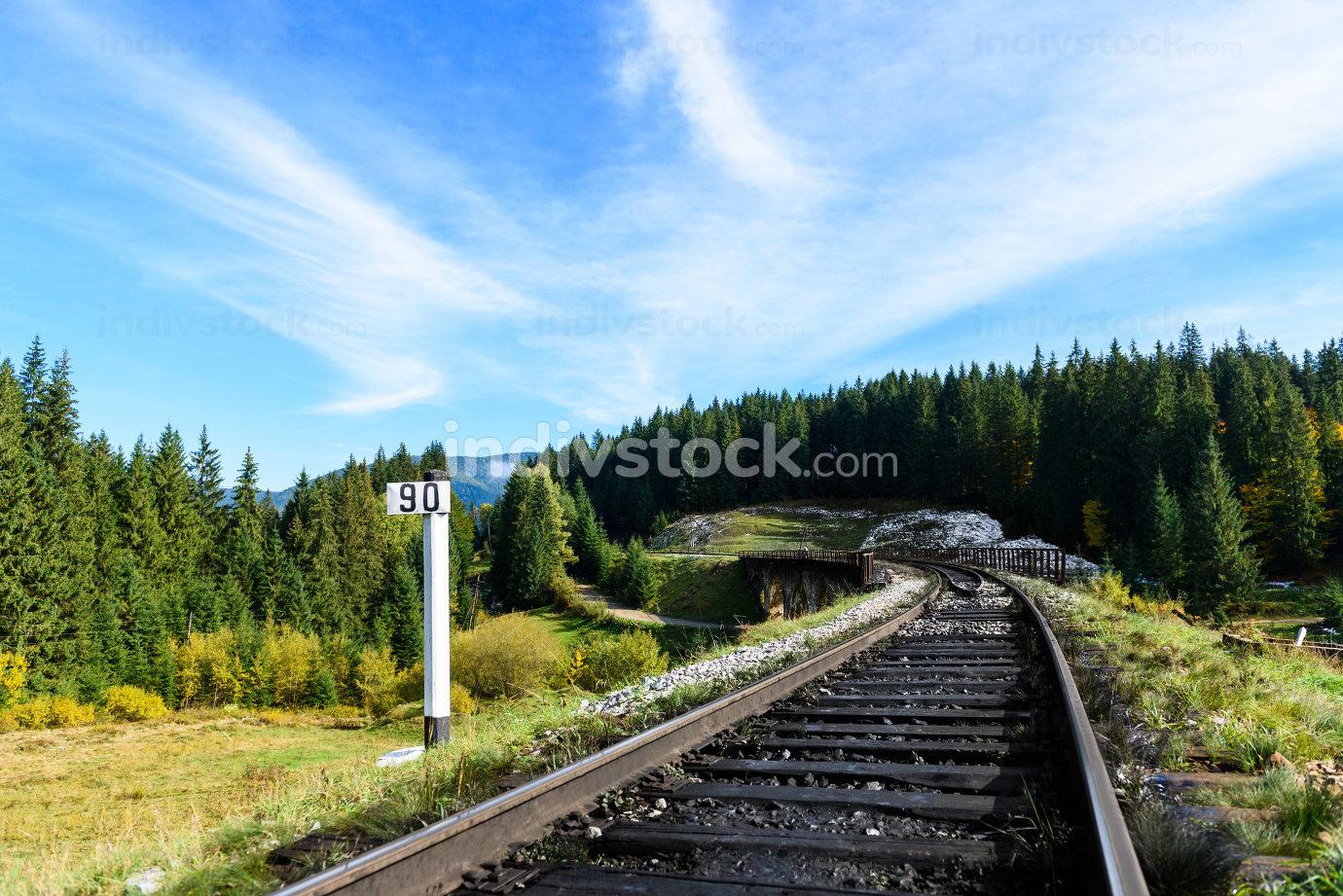 Railways in the Carpathian mountains