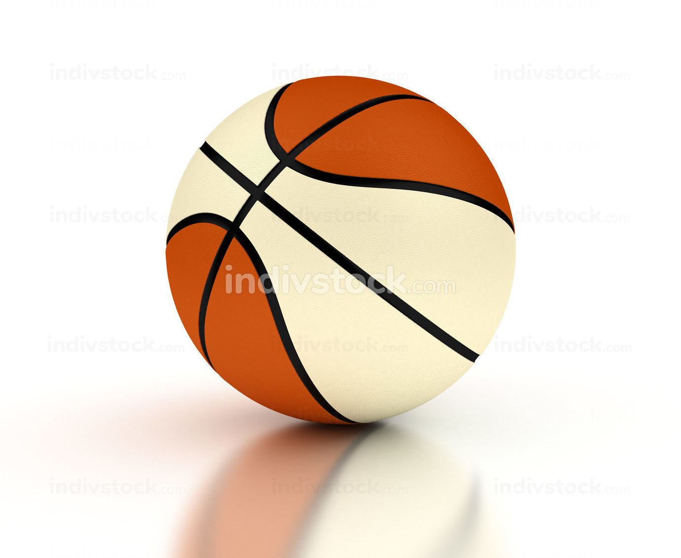 Two color basketball