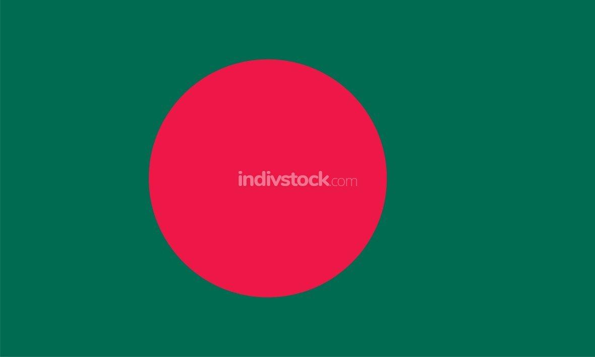 Bangladesh officially flag