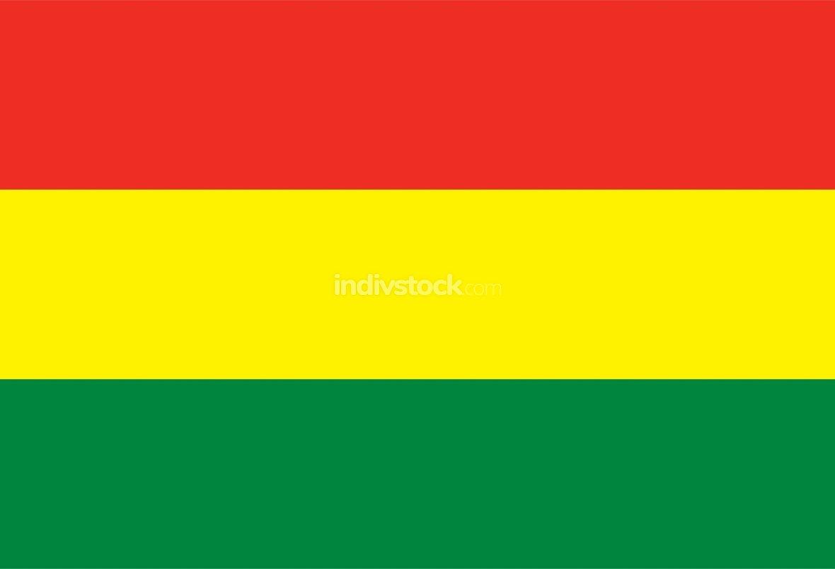 Bolivia officially flag