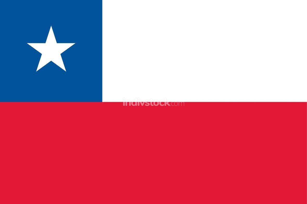 Chile officially flag