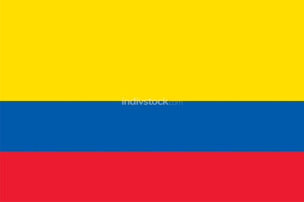 Colombia officially flag