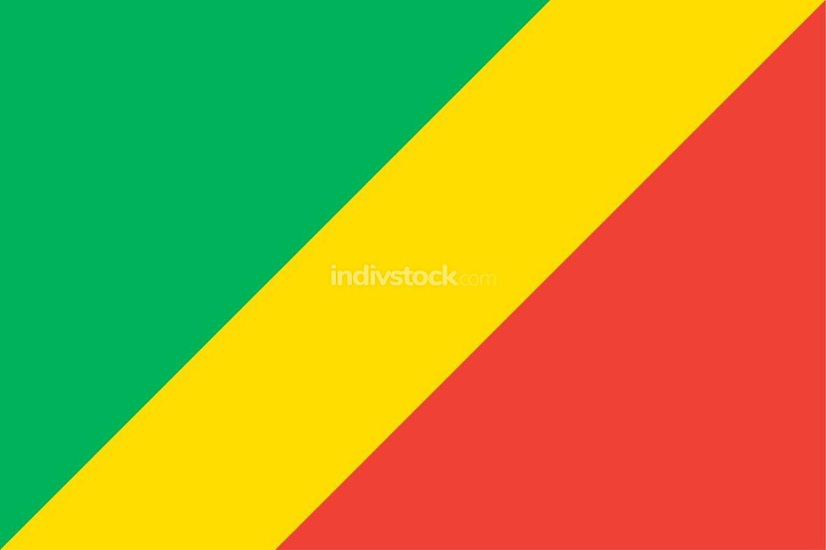 Congo officially flag