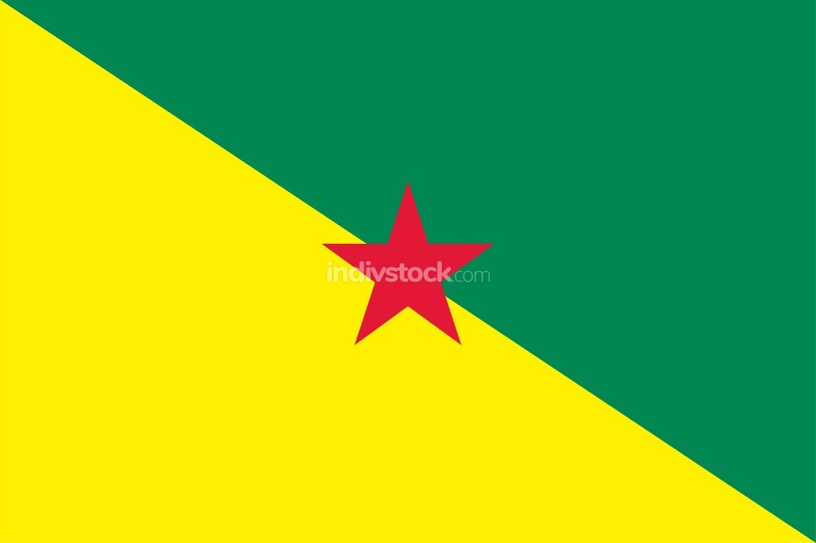 French Guiana officially flag