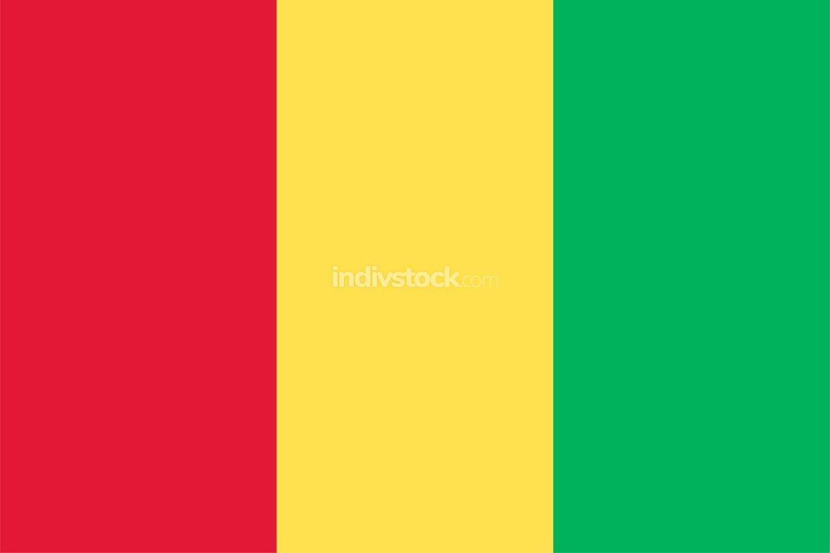 Guinea officially flag