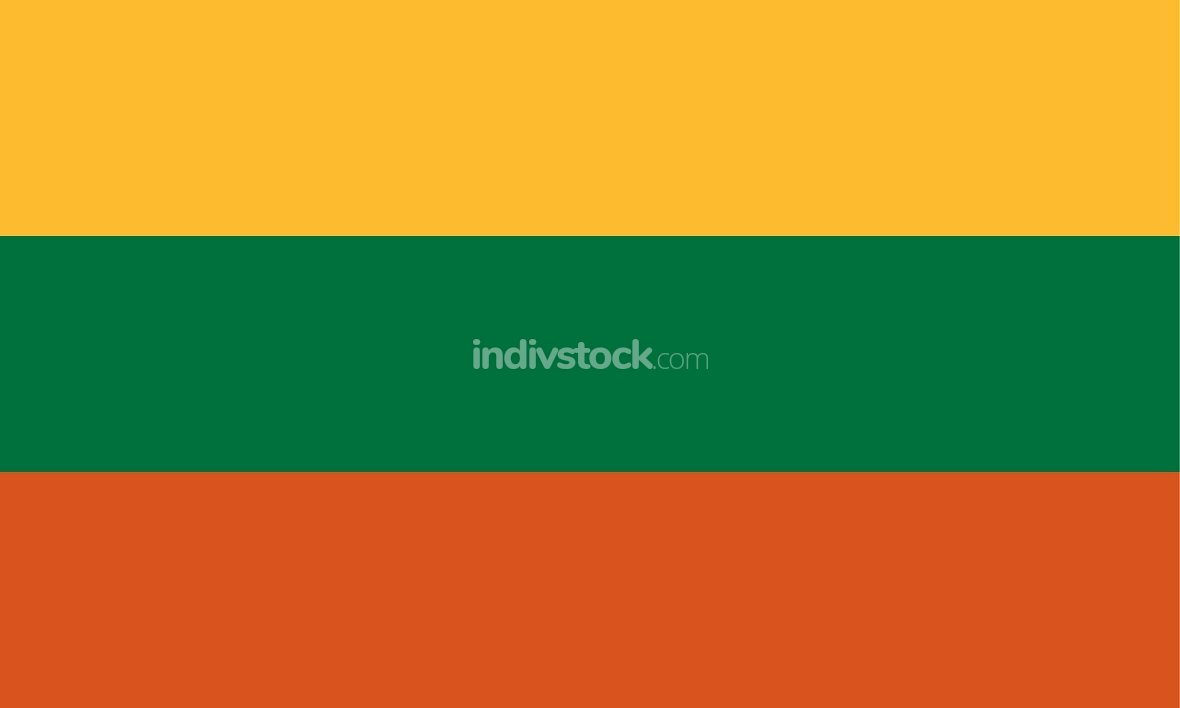 Lithuania officially flag