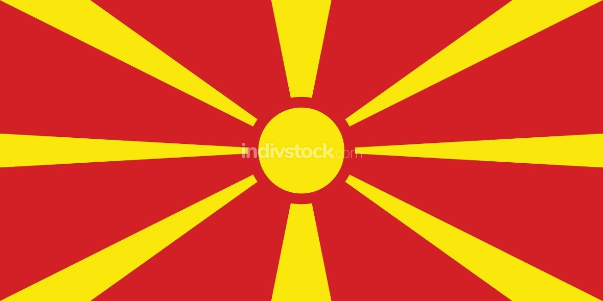 Macedonia officially flag