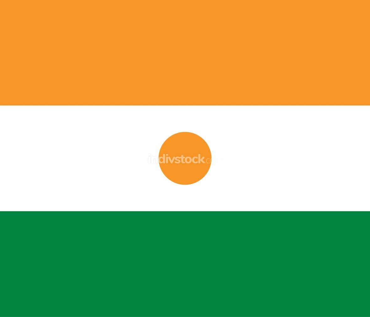 Niger officially flag