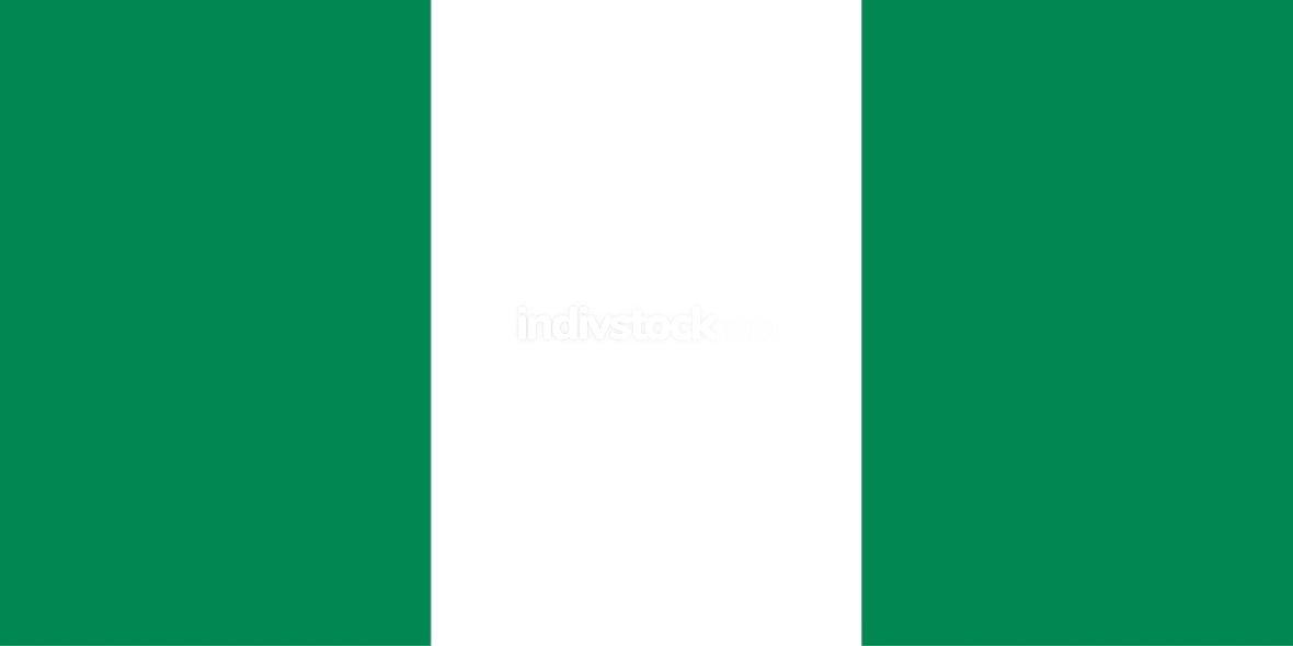 Nigeria officially flag