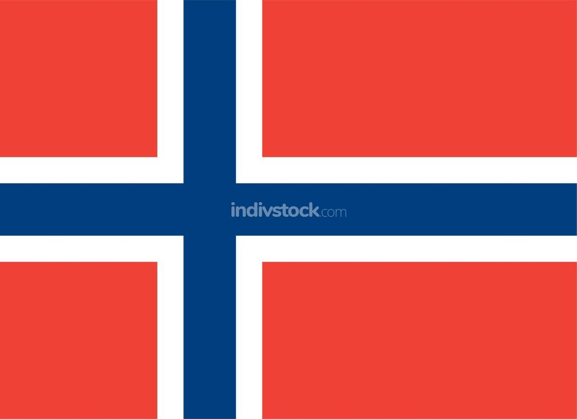 Norway officially flag
