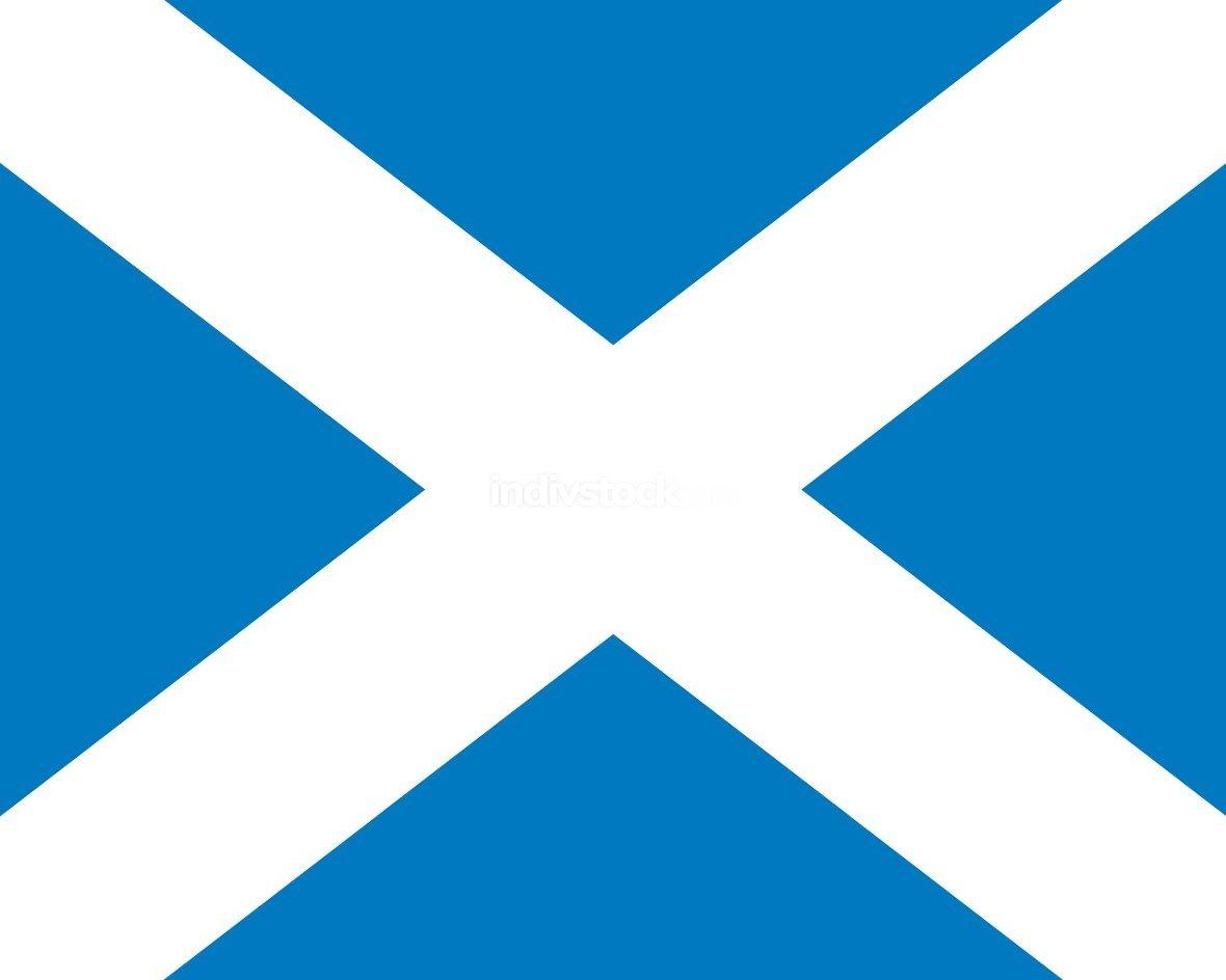 Scotland officially flag