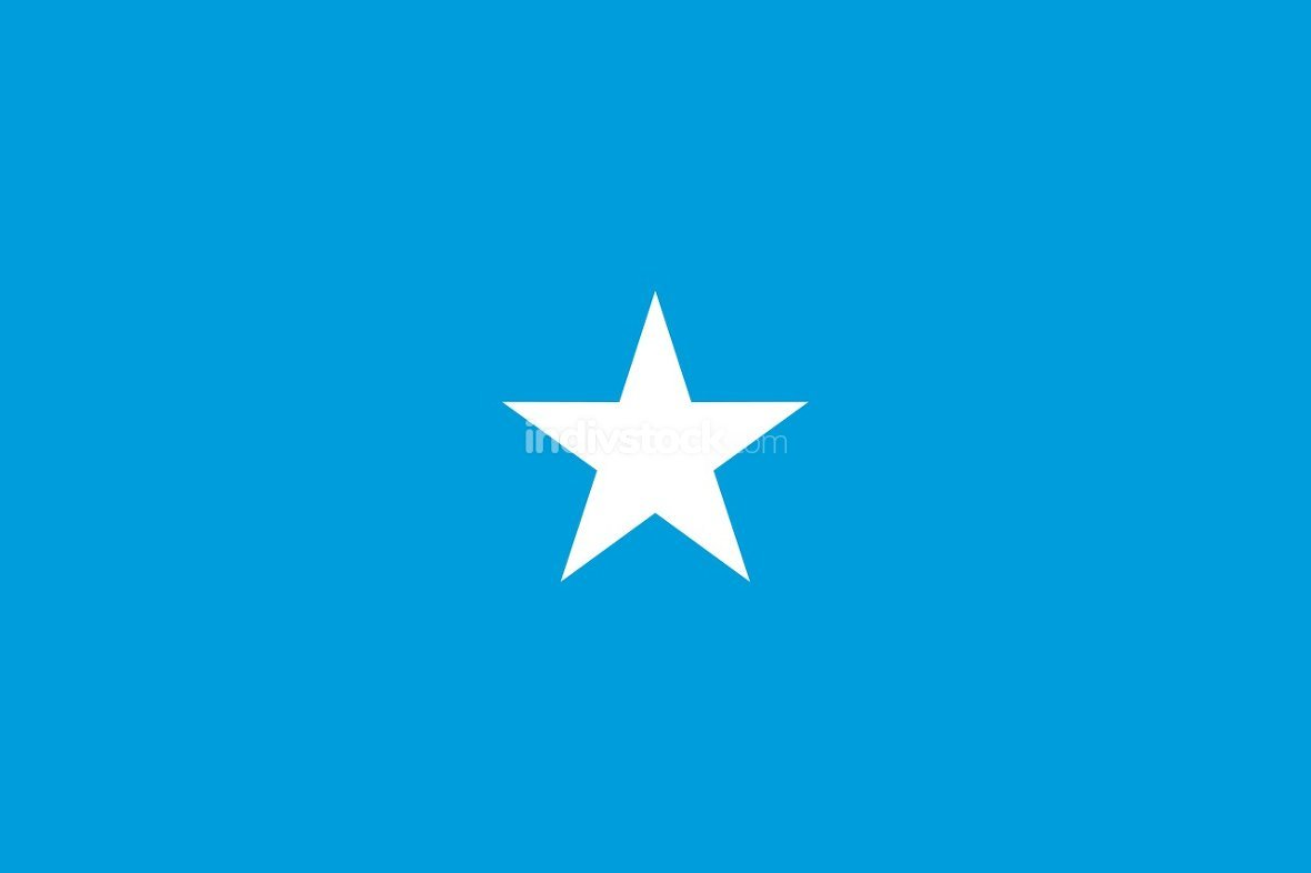 Somalia officially flag