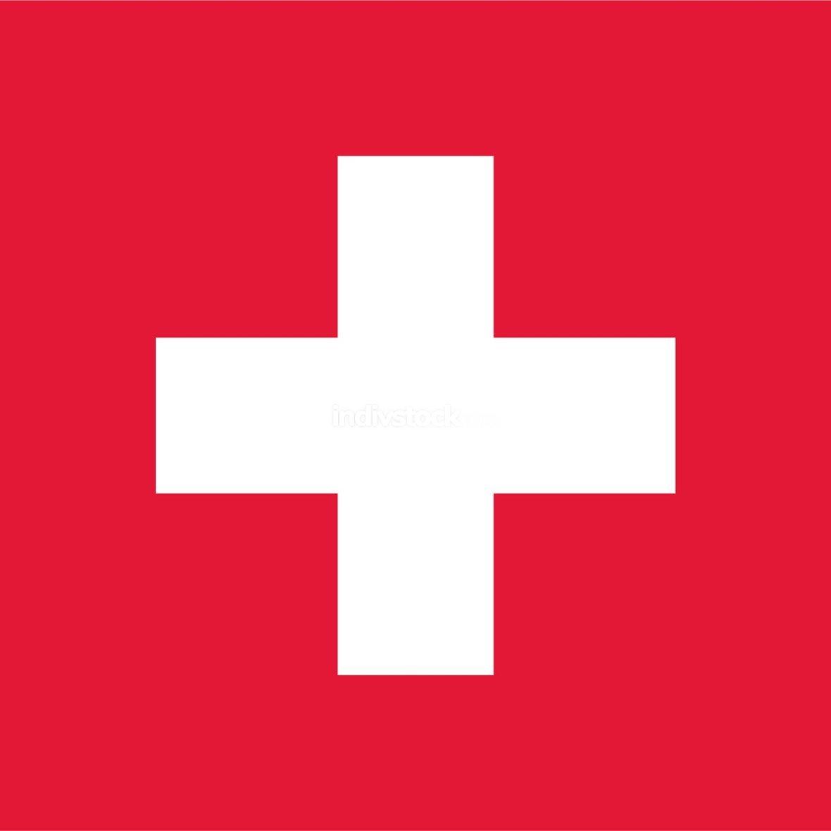Switzerland officially flag