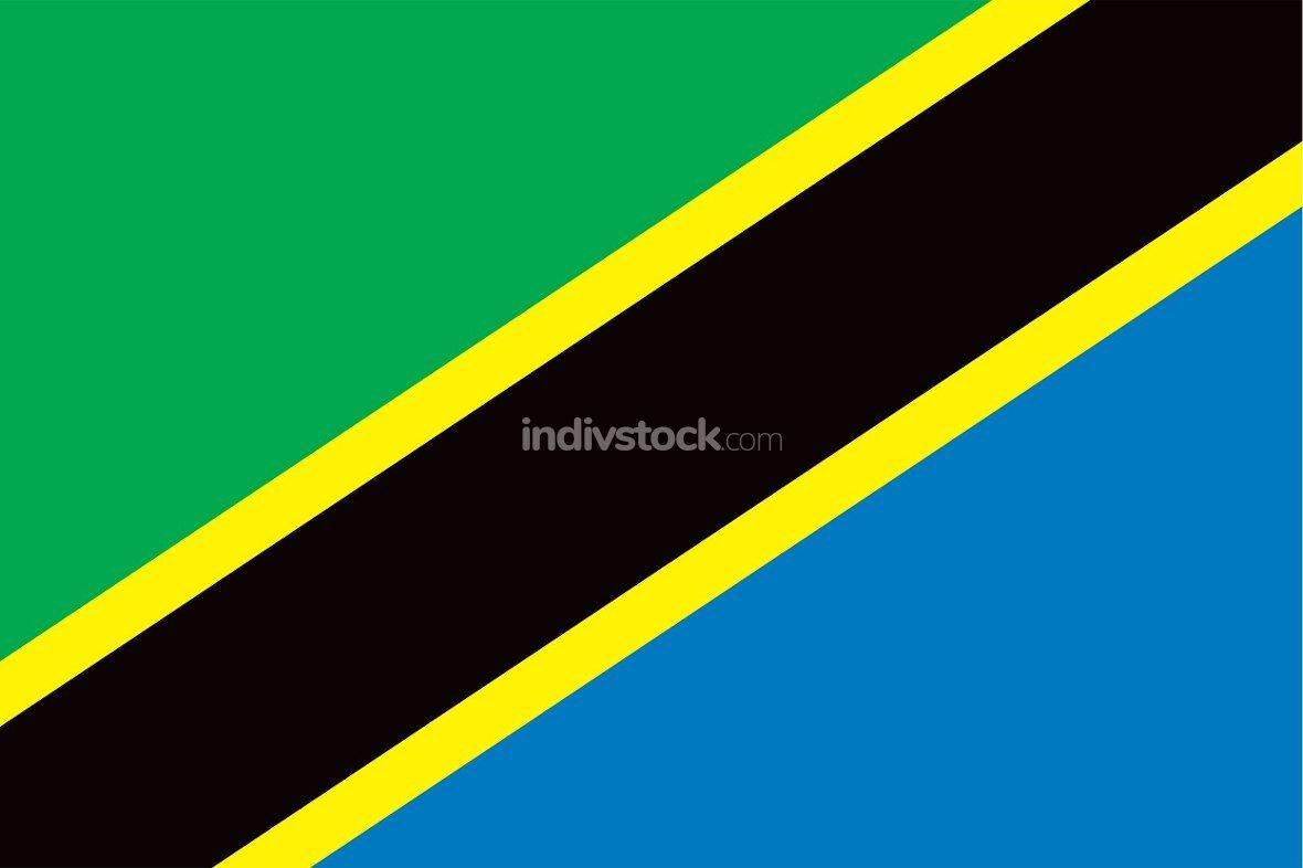 Tanzania officially flag