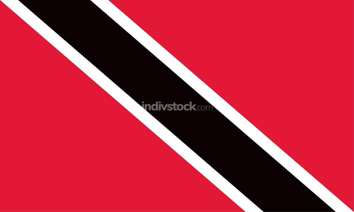 Trinidad and Tobago officially flag