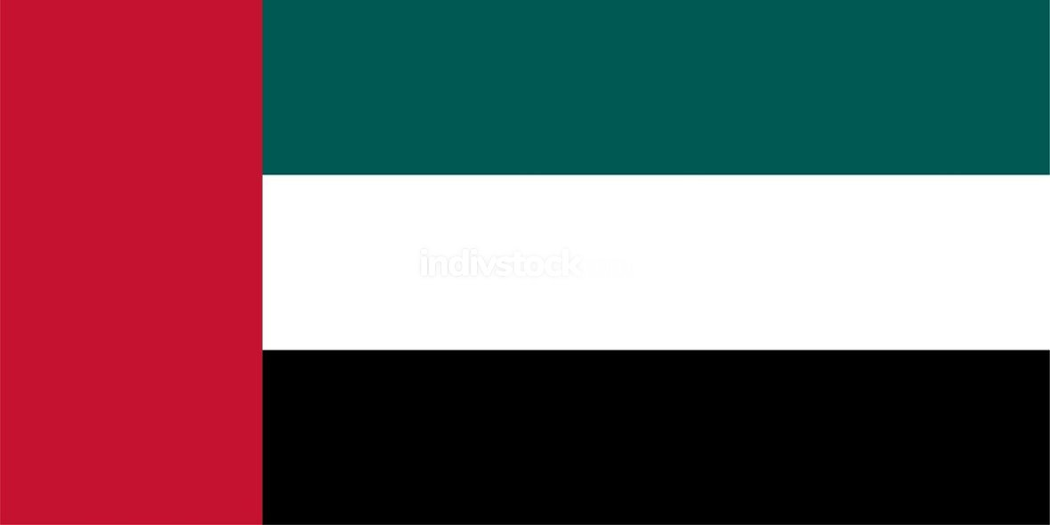 United Arab Emirates officially flag