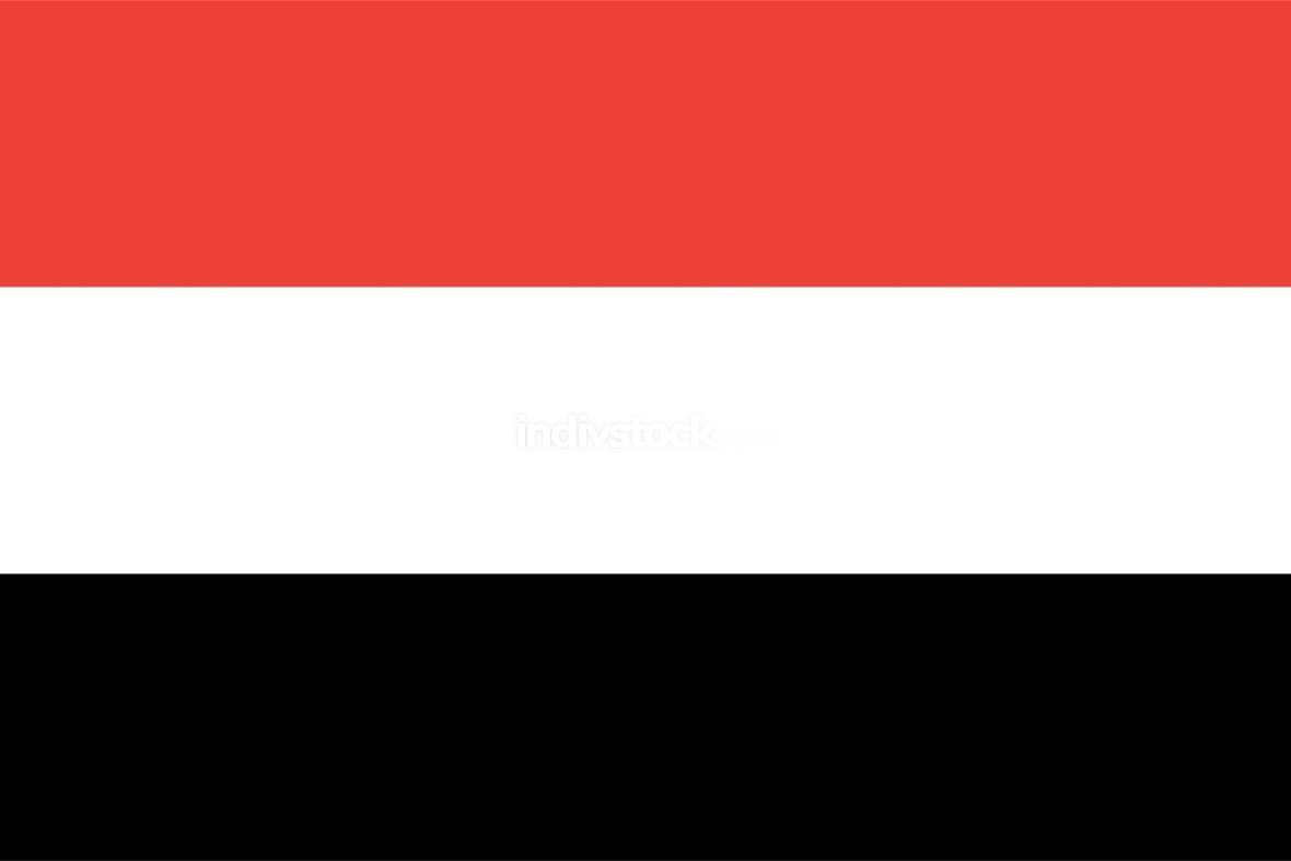 Yemen officially flag