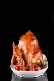 Braised chicken, Chinese cuisine.