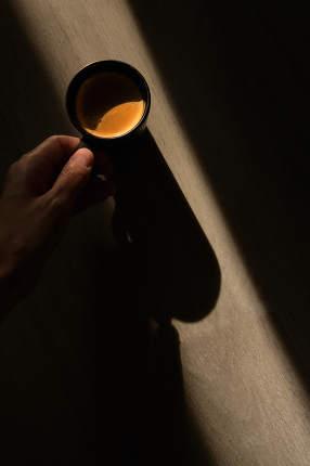 Conceptual  Espresso Coffee Cup