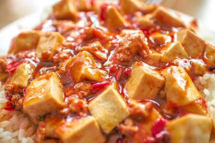 food, Mapo Tofu